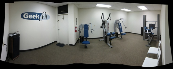 GeekFit studio interior