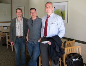 Lowell with Gary Taubes and Stephen Guyunet at UW Medicine